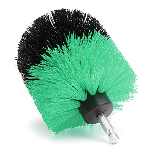 EsportsMJJ 3,5 Inch Boor Reiniging Bal Borstel Power Scrubber Badkamer Tub Tegel Reiniging Tool Green