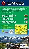 Mayrhofen, Tuxer Tal, Zillergrund: Wander-, Rad- und Skitourenkarte. GPS-genau. 1:25.000 - KOMPASS-Karten GmbH