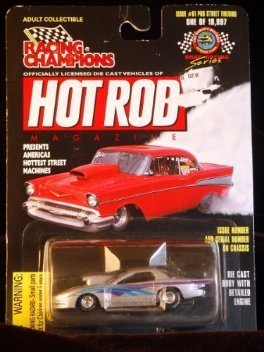 Racing Champions - Hot Rod Magazine - Pro Street Firebird Scale 1:63 - Limited Edition 1/19,997 - Issue #61 by Racing Champions