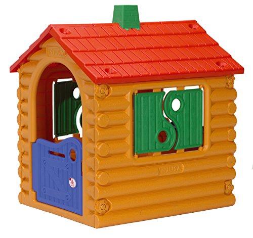 INJUSA - Casa de Juguete The Hut Multicolor Recomendada a Niños +2 Años con 1 Puerta de...