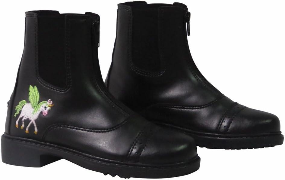 TuffRider Children's Unicorn Front Zip Paddock Boots