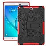 ZHIWEI Tablet PC Etuis Couverture de Tablette pour Samsung Galaxy Tab A 9.7inch / T550 T555 Texture...