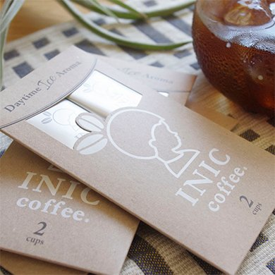 INICcoffeeDaytimeIceAroma2CUPS〔プレゼント/プチギフト/アイスコーヒー専用/インスタントコーヒー/お試し/可愛い/おしゃれ/すっきり/誕生日〕