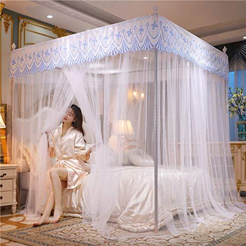 JXXZYH Moskitonetz, Bettdecke, Doppelbett für Insektenschutz im Innen- oder Außenbereich, Einzelbett, Doppelbett, Queensize-Bett, Hängematten-Reisecamping,E,1.2