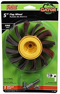5-Pack Grit-120 Shark 13123    2-Inch by 1-Inch Grinding Flap Wheel