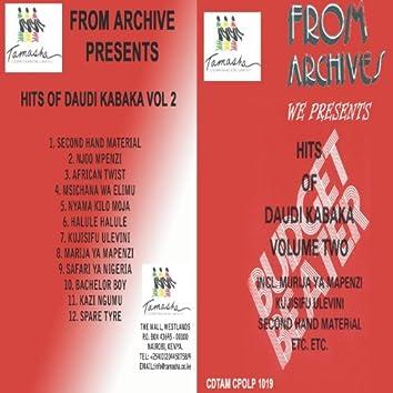 Hits of Daudi Kabaka Vol 2