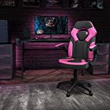 Flash Furniture X10 Gaming Chair Racing Office Ergonomic Computer PC Adjustable Swivel Chair with...