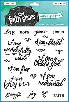 Who I Am in Christ  Faith That Sticks Stickers