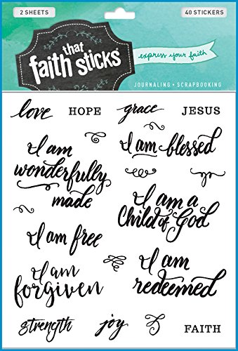 Who I Am in Christ (Faith That Sticks Stickers)