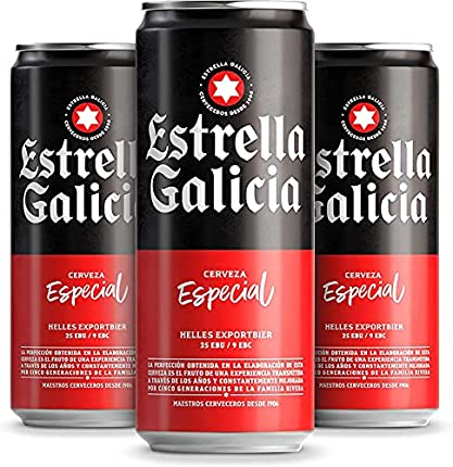 Cerveza Estrella Galicia Especial, 24 x 330ml