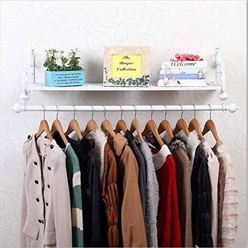 MGE 80cm Coat Rack,4 Sizes Iron Coat And Hat Rack Hangers Wall Hanging Clothing Store Bedroom