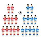 yotijar Foosball Men Table Man Player Miniature Football Players Figure Tournament Sport Style 3
