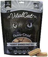 Vital Essentials Vital Cat Freeze-Dried Rabbit Dinner Patties Cat Food, 8 oz