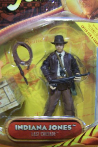 Indiana Jones 3 3/4Inch - Indiana Jones with SubMachine Gun - Last Crusade