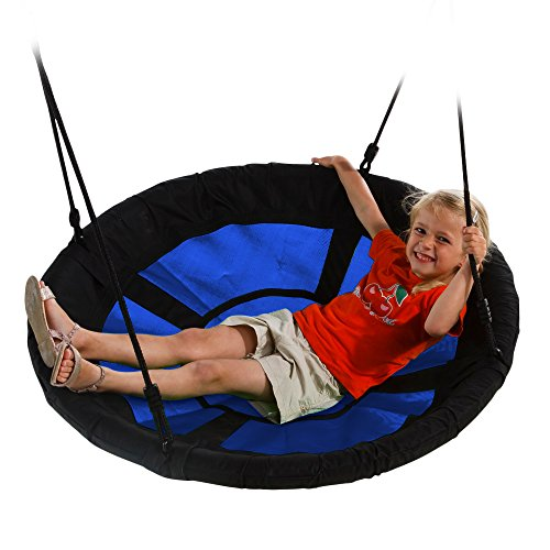 Swing-N-Slide WS 4861 Nest Swing with 40' Diameter, Blue