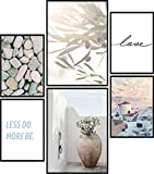Papierschmiede® Premium Poster Set Greek Love | 6 Bilder
