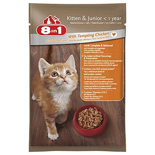 8in1 8IN1–Sachet Frische im Huhn für Katzen–100g