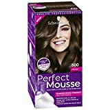 Schwarzkopf Perfect Mousse – Coloración permanente – Castaño 500