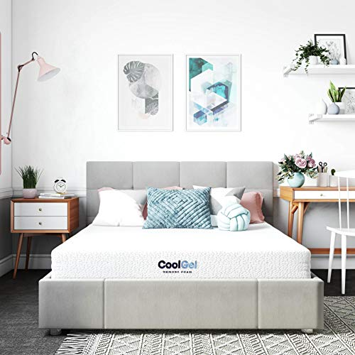 Classic Brands Cool Gel Memory Foam 6-Inch Mattress | CertiPUR-US...