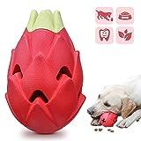 Iokheira Juguete de masticar para perros indestructible, resistente para masticar agresivo, duradero, de látex natural, juguete dispensador de golosinas para perros pequeños, medianos y grandes
