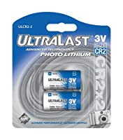 UltraLast ul-cr2/ 2リチウム写真電池cr2