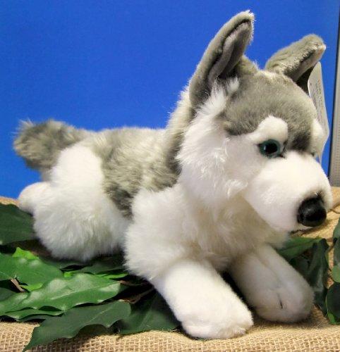 Uni-Toys Husky Schlittenhund aus Plüsch 35 cm
