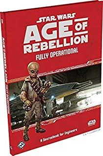 Fantasy Flight Games Current Edition Star Wars Age of Rebellion Fully Operational Board Game