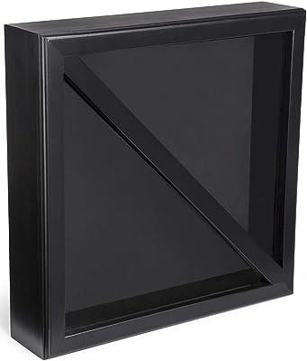 Amazon.com: Displays2go, caja de sombra de bandera de 10.0 ...