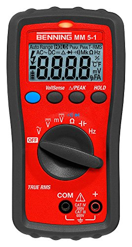 Benning MM 5-1 TRMS-Digital-Multimeter, 044070