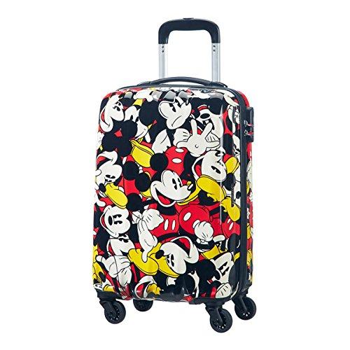 Samsonite American Tourister Disney Legends Spinner Bagaglio a Mano, 55 cm, 32 litri, Mickey Comics
