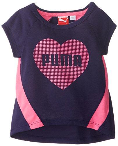 PUMA Little Girls' Sequined High Low