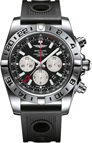 Breitling, Orologio da polso da uomo, Cronografo Automatico, in gomma AB0413B9/BD17/201S