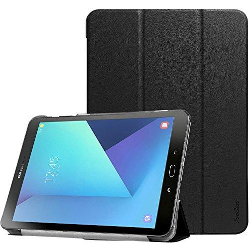 ProCase Custodia per Galaxy Tab S3 9.7, Custodia Stand Folio per Samsung Galaxy Tab S3 (9,7 pollici, SM-T820 T825 T827), con Angoli di Visuale Multipli, Tasca per Schede Documenti –Nero