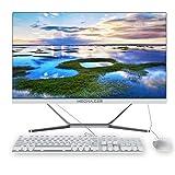MECHAZER Z1 PC Computadora de escritorio todo en uno de 23.8 pulgadas Intel Core i5-3340M (hasta 3.4GHz) Windows10 Pro,8GB DDR3,256GB M.2 SSD,Dual-band WiFi Bluetooth (teclado y mouse qwerty gratis)