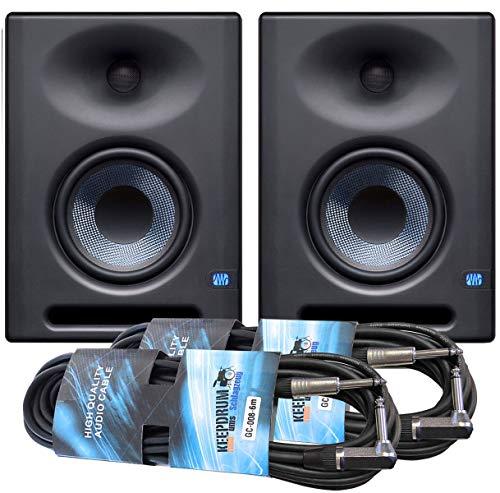 Presonus Eris E5 XT - Monitor de estudio (1 par, incluye 2 cables de 6 m)