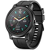 GOKOO Smart Watch for Android Phones iPhone Compatible IP68 Waterproof Bluetooth Sport Fitness Tracker Smartwatch for Men Heart Rate Blood Pressure O2 Sleep Monitor with Custom dial Styles