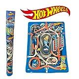 DSO ODS- Tappeto Gioco Arredo 120 x 90 cm Hot Wheels Alfombra, Multicolor, Media (42025)