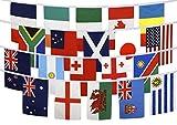 Digni Guirlande Coupe du Monde de Rugby 2015-15 x 22 cm Sticker Gratuit