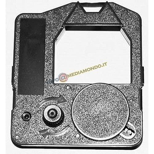 Cinta compatible para Olivetti 82556 N Small - Negro - 1 m x 6,3 mm