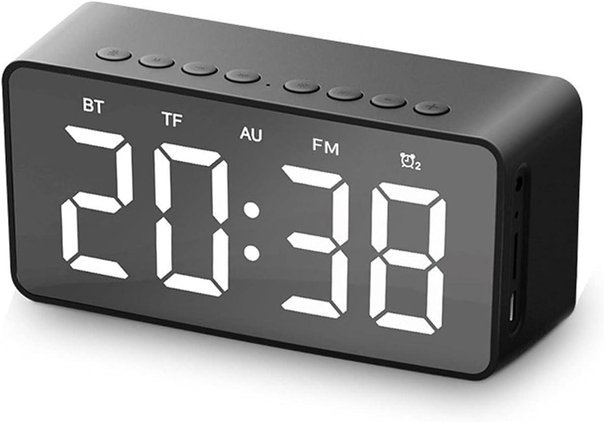 DKYUNDING Bluetooth Very popular Speakers,New FM Alarm Clock Bluetoot New mail order