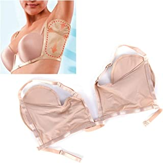 Underarm Sweat Pads, Dukars Reusable Underarm Armpit Sweat Pads Shields Quick-Drying Sweat-Absorbing Mat for Women