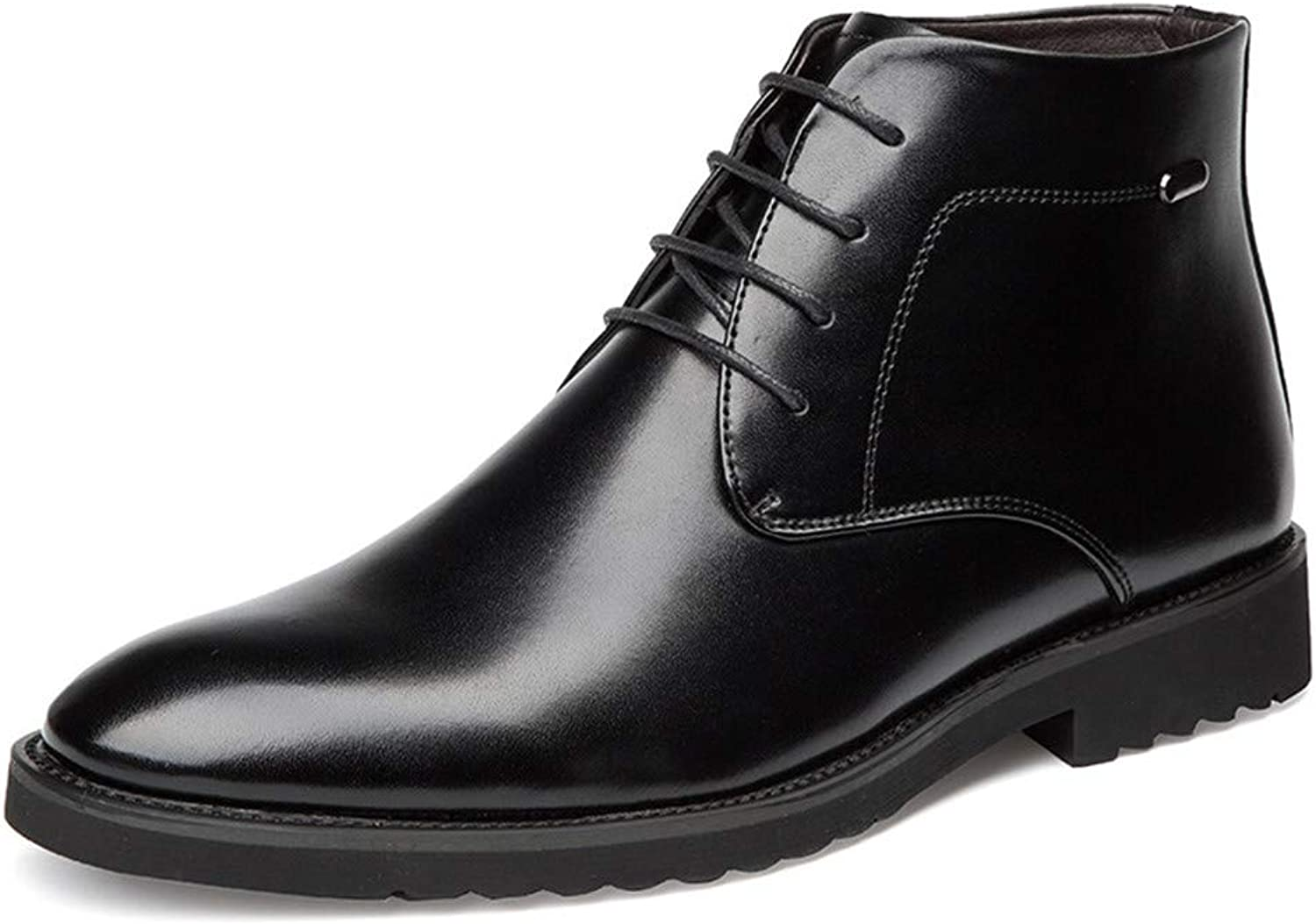 Goodtimeshow Autumn Winter Men's Chelsea Boots,British Style Ankle Boots Soft Leather Men Casual shoes Boots