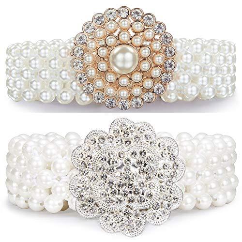 Barry.Wang Cinturones de diamante para mujer, cadena de cintura con cristales brillantes, para niña, para bodas, fiestas, clubes, juego de moda de 100 cm