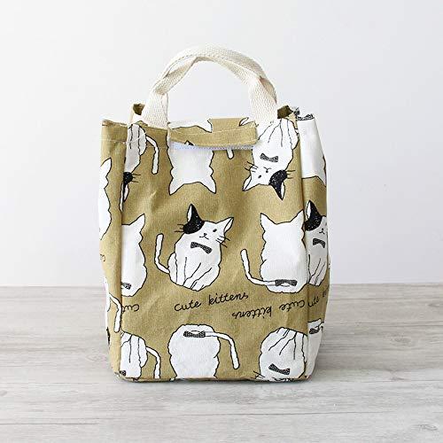 Adhesiva de algodóy Lino Cubano de Dibujos Animales Bolsa de Zapatos de Almacenamiento de Viaje Bolsa de cosméticos convenente Paquette de Aislamiento de Dibujos Animales