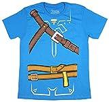 Bioworld Zelda Breath of The Wild Adult Cosplay Men's T-Shirt (Medium) Blue