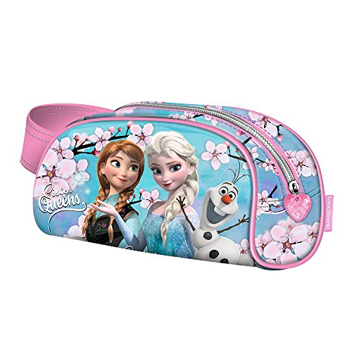 Karactermania Frozen Sister Queens-Book Pencil Case Federmäppchen, 21 cm, Blau (Blue)