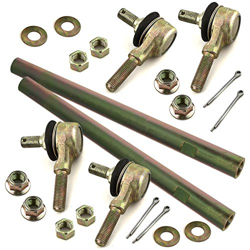 2 Caltric Tie Rod Set for Kawasaki Bayou 220 Klf220 Klf-220 1988-2002