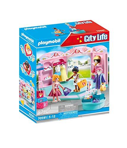 PLAYMOBIL City Life 70591 - Fashion Boutique, dai 5 ai 12 Anni