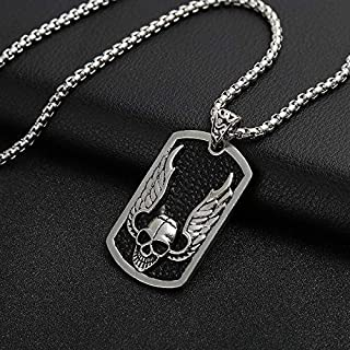 YaptheS Charm Jewelry Necklace Pendant Fashion Hip Hop Necklace Personality Street Dance Accessories for Men Japan and South Korea Style