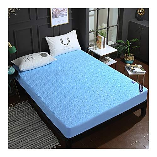 WYJHNL Queen matrasbeschermer waterdicht gewatteerd passend matraskussenhoes strekt zich uit tot 12